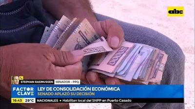 Ley de consolidación económica