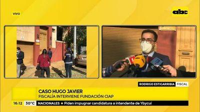 Caso Hugo Javier: Fiscalía interviene fundación CIAP