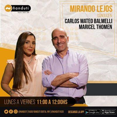 Mirando Lejos con Carlos Mateo Balmelli y Maricel Thomen