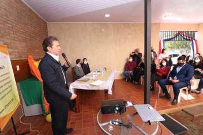 Habilitan en Caaguazú incubadora de empresas