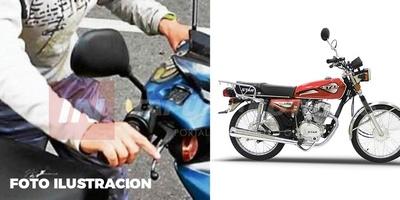 OTRO HURTO DE MOTOCICLETA EN EL CENTRO DE ENCARNACIÓN