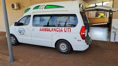 Disparan contra conductor de ambulancia de la Gobernación de Canindeyú