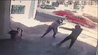 Asalto de motochorros con extrema violencia