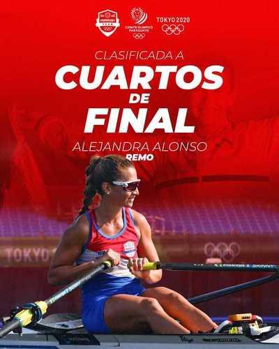¡Ale Alonso, clasificada a los cuartos de final de las Olimpiadas Tokyo 2020!