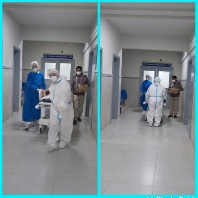 Tercer paciente recuperado de Covid-19 en la UTI de Ayolas