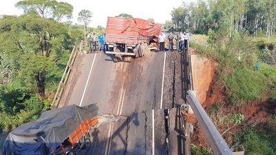 Recién luego de una tragedia, MOPC incluyó la revisión de puentes y alcantarillas en una licitación