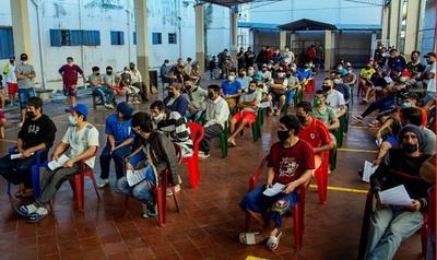 Vacunación contra el covid en varios centros penitenciarios. La semana venidera será en cárcel de Tacumbú