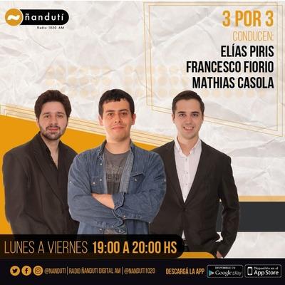 3 por 3 con Elías Piris, Francesco Fiorio y Mathias Casola