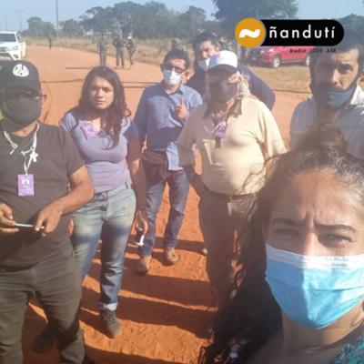 Expulsarán a activistas argentinos tras intentar ingresar a zona del EPP sin comunicar a la FTC