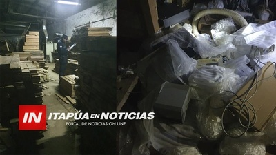 HURTAN COBRE DE EQUIPOS EN LA CARPINTERÍA DEL CONCEJAL MOREL.