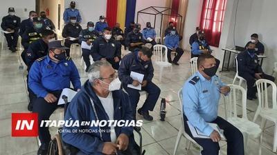MEDIO CENTENAR DE AGENTES DE TRÁNSITO SE PREPARAN PARA EL ASCENSO.