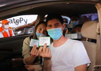 En Paraguay ya se aplicaron más de 1,8 millones de dosis