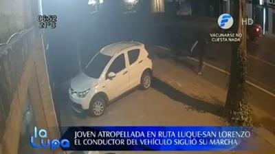Buscan a conductor que atropelló a adolescente en ruta Luque – San Lorenzo