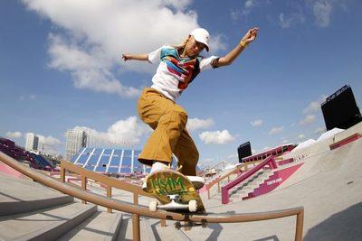 Los skaters de Japón esperan su debut en los Juegos Olímpicos