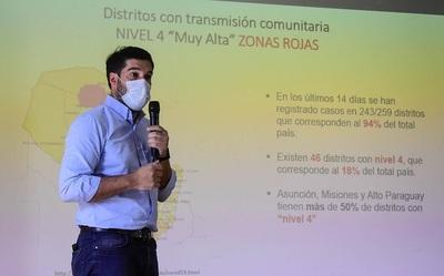 Paraguay salió de la «zona roja» COVID