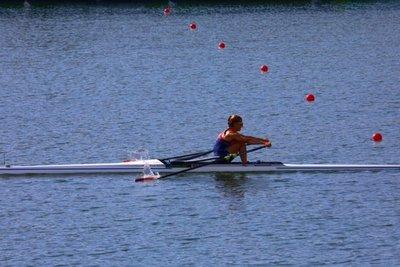 Alejandra Alonso avanza a cuartos de final de remo en los Juegos Olímpicos