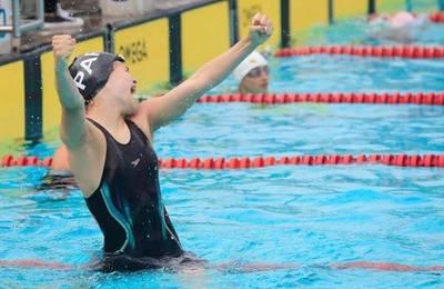 Luana Alonso debuta en unos Juegos Olímpicos con récord nacional