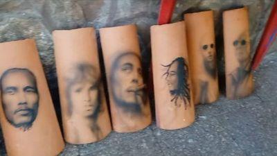 De los tatuajes al arte sobre tejas