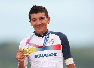 Carapaz hace historia en ciclismo olímpico y Asia empieza fuerte en Tokio-2020