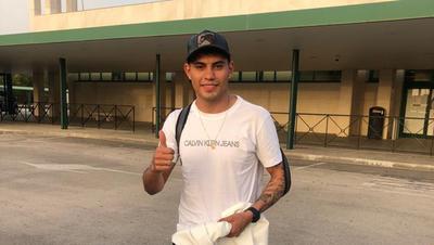 Arzamendia supera prueba médica y ya entrena en el Cádiz