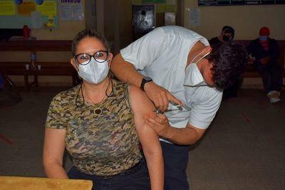 En Guairá solo vacunarían hoy las segundas dosis antiCOVID