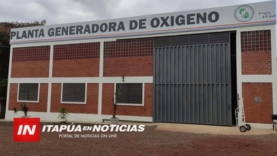 AVANZA INSTALACIÓN DE PLANTAS DE OXÍGENO POR PARTE DE LA GOBERNACIÓN.