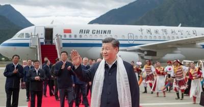 La Nación / Primera visita de un presidente chino a Tibet en 31 años