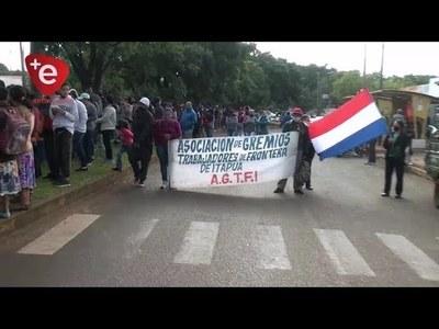 TRABAJADORES DE FRONTERA REITERAN NECESIDAD DE ASISTENCIA PARA EL SECTOR