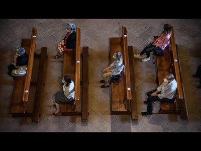 AMPLÍAN PRESENCIA DE FIELES EN IGLESIAS