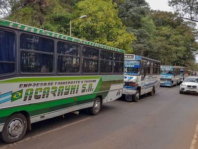 CDE: intendente vetará suba del pasaje y municipalizará el transporte público