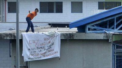 Ascienden a 27 los fallecidos por los motines en las cárceles de Ecuador