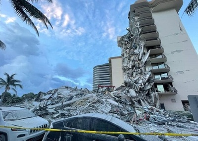A un mes de la tragedia en Miami bomberos finalizan búsqueda de víctimas