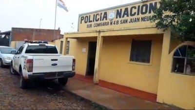 Motochorros armados asaltaron a una mujer en el barrio San Juan Neuman
