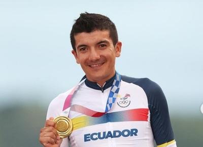 Tokio 2020: Richard Carapaz el ciclista de oro del Ecuador