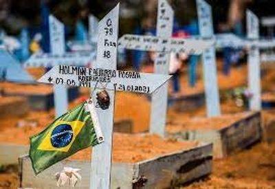 Covid-19: Brasil registra 1.108 muertes en 24 horas