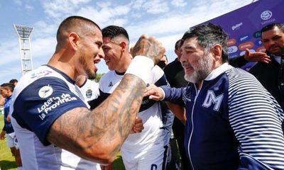 """El día que Diego Maradona le arrebató una """"obsesión"""" aOlimpia"""