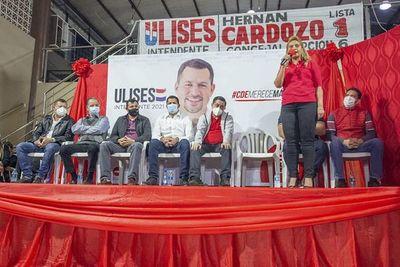 Colorados se unen en torno a la candidatura del imputado Quintana
