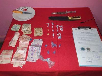 Incautan droga dentro de un prostíbulo en Caaguazú