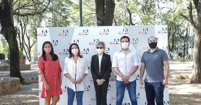 La Nación / Partido de la A confirmó su apoyo a la candidatura de Johanna Ortega