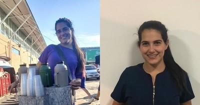 La Nación / Ejemplo de superación: vendía desayunos en el Abasto para culminar carrera de veterinaria