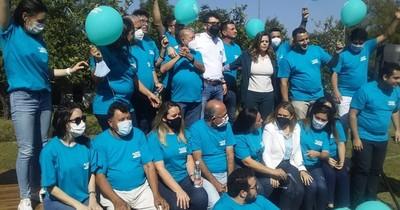"""La Nación / """"Alianza Joven"""" presentó candidaturas en Villa Elisa"""
