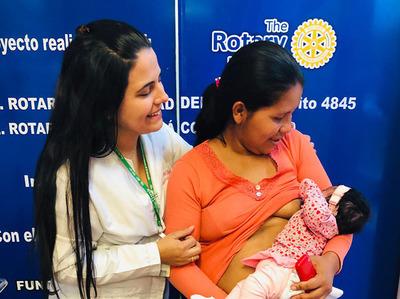 Fundación salva vida de bebé de Itakyry con grave cuadro de desnutrición y anemia
