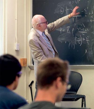 Fallece a los 88 años el Nobel de física estadounidense, Steven Weinberg
