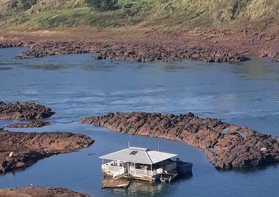 Persiste la crítica bajante del río Paraná