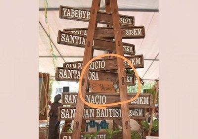 Crónica / Misiones: Guyryry por cartel anti-Santa María
