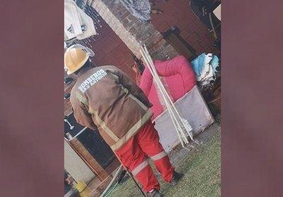 """Crónica / Los perritos avisaron """"que había el fuego"""""""