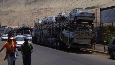 La importación de vehículos más viejos continúa en aumento