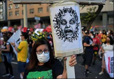 Brasil vuelve masivamente a las calles para exigir destitución de Bolsonaro