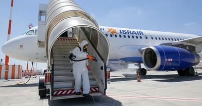 La Nación / Lanzamiento del primer vuelo comercial directo entre Israel y Marruecos