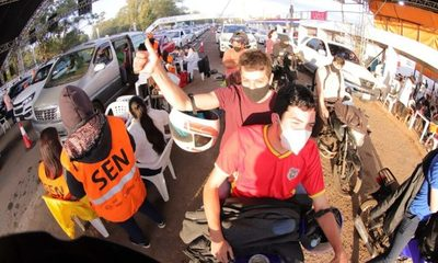 Paraguay registra importante descenso de casos semanales de covid-19